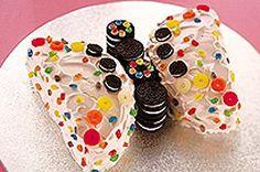 Ravissant gâteau papillon recette