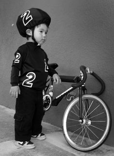 Big men start young... http://www.letmebike.eu/blog/pic-of-the-day-12/