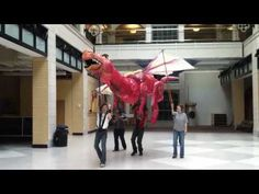 The Dragon from Shrek the Musical - YouTube