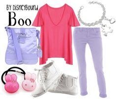 Boo Monsters Inc DisneyBound I love this one! @Adriana Ramirez
