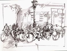 Urban Sketchers: Hello Amsterdam!