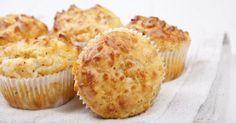 Recette de Muffins au gruyère râpé allégé. Facile et rapide à réaliser, goûteuse et diététique. Ingrédients, préparation et recettes associées.