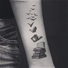 Awesome reader tattoo!