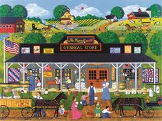 McKenna's General Store (1000 Piece Puzzle by SunsOut)