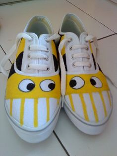 Ideas for painting shoes