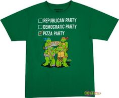 TMNT Pizza Party T-Shirt
