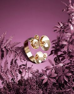 Editorial   Jewellery & Watches   Barbara Donninelli   #jewellery #plants #paint