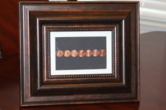 Copper Coin 7 Year Anniversary Gift by TresJolieRose on Etsy, $27.95