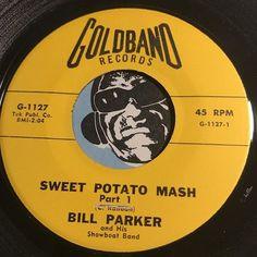 Bill Parker & His Showboat Band - Sweet Potato Mash pt.1 b/w pt.2 - Goldband #1127 - Rock n Roll