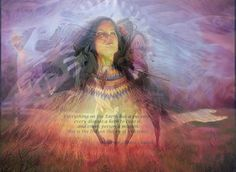 Photo art, Native American-Poem