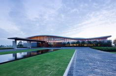 jack nicklaus golf club of korea by yazdani studio, songdo, south korea