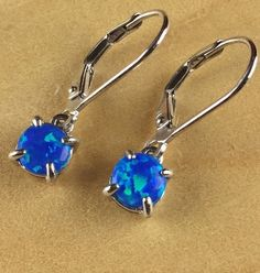 Exotic Fire Opal Sterling Silver Pierced Dangle EarRings EDE8872|We combine shipping|No Question Refunds|Bid $60 for free shipping. Starting at $1