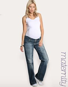 looking for the perfect pair of comfy maternity jeans