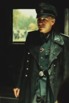 Christoph Waltz, Inglourious Basterds. Not gonna lie: I was VERY uncomfortable seeing this character on screen. Just, ugh, scary D: