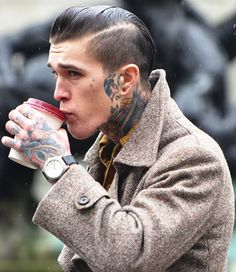 Love a man with tattoos...