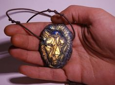 Hey, I found this really awesome Etsy listing at https://www.etsy.com/listing/582659666/lion-necklace-labradorite-stone-hand