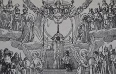 """""""Picture then the High Priest Christ leaving the sacristy of heaven for the altar of Calvary. He has already put on the vestment of our human nature, the maniple of our suffering, the stole of priesthood, the chasuble of the Cross."""" - Ven. Abp. Fulton J. Sheen"""