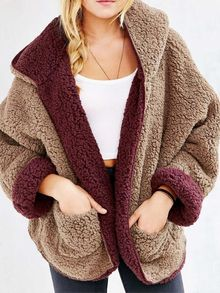 faux fur hoodies for women winter coats and jackets reversible fur hoodie faux fur jacket with hood short fluffy jacket warm winter hoodie coat.extra OFF First Order Faux Fur Hoodie, Faux Fur Hooded Coat, Faux Fur Jacket, Hooded Cardigan, Longline Cardigan, Winter Coats Women, Coats For Women, Jackets For Women, Sweaters For Women