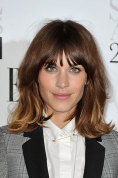 layered bangs hairstyles - Google Search