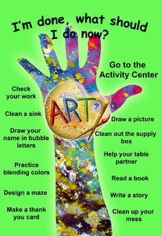 art classroom activities for early finishers Freetime Activities, Art Activities, Classroom Activities, Middle School Art, Art School, Art Room Posters, Classe D'art, Art Classroom Management, Art Bulletin Boards