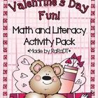 Show your kiddies some Valentine's Day L-O-V-E with this Math and Literacy Activity Pack. This easy-to-use set comes stocked with...*I'm Bananas ...