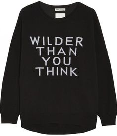 Wilder Than You Think: I need this for all those people who think I'm quiet