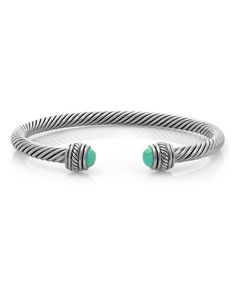 Look what I found on #zulily! Silvertone & Turquoise Cuff by Regal Jewelry #zulilyfinds $6.99 WAS $30.00 http://www.zulily.com/invite/jroberts2947