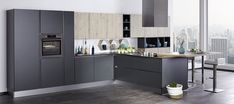 Beautiful new Kitchen from our Bauformat German Kitchen range, exclusive to our Lincoln showroom Home Design, Küchen Design, Contemporary Kitchen Inspiration, Builders Merchants, Bathroom Showrooms, German Kitchen, Real Kitchen, Clever Design, Real Wood