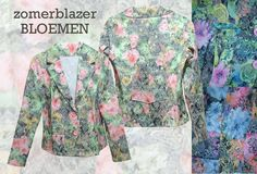 Gespot, zomerblazer met een all over kleurige bloemen print, de blazers zijn uitgevoerd met een revers kraag en knoopsluiting. De blazers zijn in twee versies verkrijgbaar, de goedkoopste versie (39 Euro, incl. verzendkosten)  MEER http://www.pops-fashion.com/?p=29098