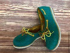 Обувь ручной работы. Ярмарка Мастеров - ручная работа. Купить Туфли валяные. Handmade. Туфли валяные, валяная обувь, подошва