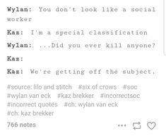 Six Of Crows and Lilo and Stitch crossover is everything I needed I Love Books, Good Books, Six Of Crows Characters, Bones Quotes, Bones Netflix, Kaz Brekker, Crooked Kingdom, The Grisha Trilogy, Leigh Bardugo