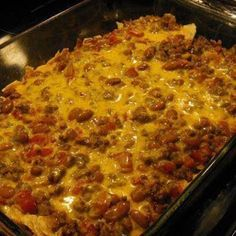 Taco casserole is easy to make and your family will love it! A great recipe for making ahead for a quick weeknight dinner.