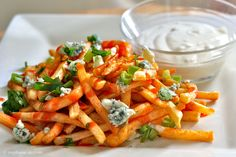 buffalo fries / life tastes like food