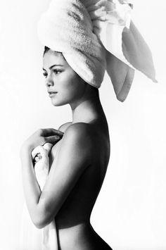 Selena Gomez photographed by Mario Testino