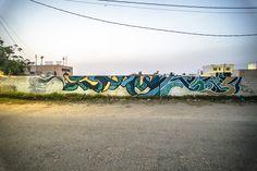 Kool Koor (USA) #streetart #erriadh #djerba #tunisia #spray