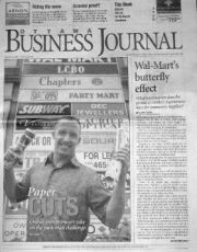 An example of coverage a client received in The Ottawa Business Journal Online Discount, Business Journal, Ottawa, The Past, Author, Writing, Books, Livros, Libros