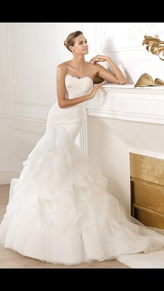 love it! #wedding #dress