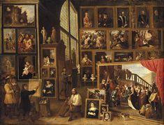 David Teniers el Joven, La Galería del Archiduque Leopoldo en Bruselas
