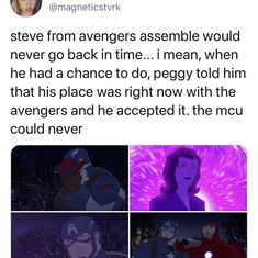 and that's on animation being the best form of media Marvel Jokes, Disney Marvel, Marvel Funny, Marvel Heroes, Marvel Avengers, Marvel Comics, Marvel Cinematic Universe, Dc Universe, Phase 4