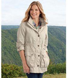 Field jacket ; good spring jacket or for layering..Eddie Bauer