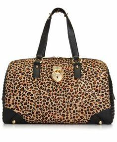 Juicy Couture Robertson Haircalf Steffy Satchel Women's - Handbags