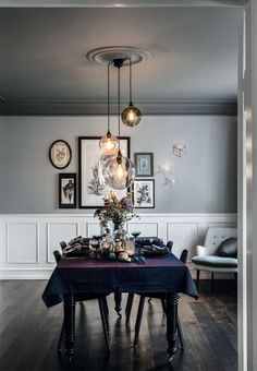 """Move Over, Minimalism: The """"New Victorian"""" Look is On the Rise ~ETS #diningroom"""