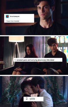 Shadowhunters and The Mortal Instruments - Alec, Isabelle and Magnus