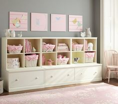 Cameron 3 Cubby & 3 Drawer Base Storage System | Pottery Barn Kids