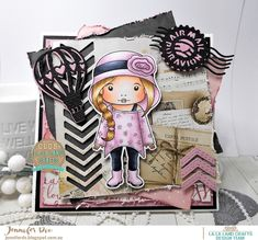 Hi I am here with the pretty AWESOME January Kit Just loooove Marci and the Kitties are so CUTE! So if your after all the Kit in...