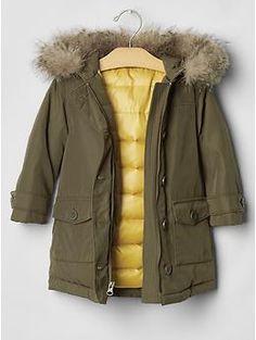 GAP Kids Anorak puffer jacket