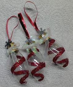 DIY ~ Glitter Swirl Christmas Bulbs