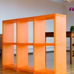 Cubitec is a shelving system that rolls with the punches. These six cubes can be rearranged and reconfigured to cater to your every design whim. A great color splash and Ikea alternative for kids rooms...