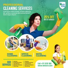 Hotel Cleaning, Cleaning Dust, Content Marketing, Social Media Marketing, Cleaning Service Flyer, House Maid, Share Online, Cleaning Business, Social Media Graphics