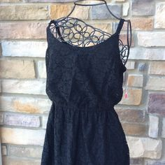 little black dress Darling little black dress! New with tags. Has adjustable straps! Mossimo Supply Co Dresses Mini